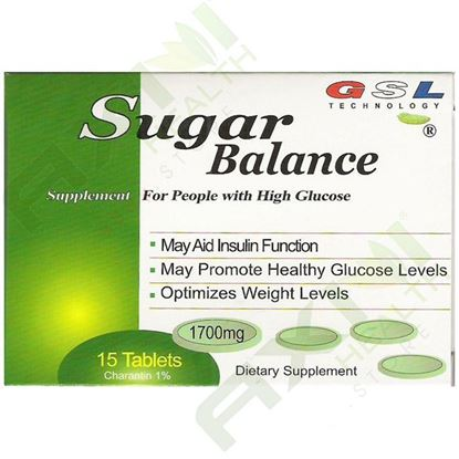 图片 GSL Sugar Balance - 15 tablets/box